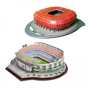 Camp Nou + Allianz Arena Puzzle 3D